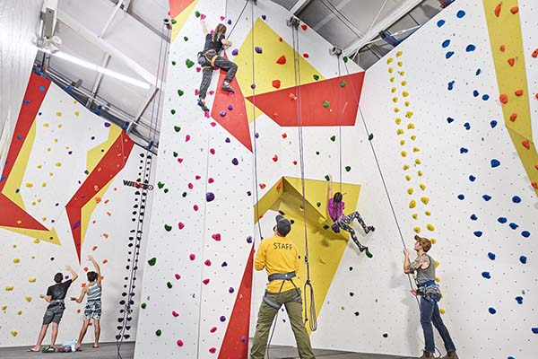 Drop-In Rock Climbing for Kids at Huge New Mississauga Gym