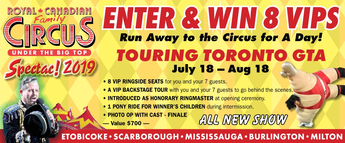 Contest: Win Tickets to the Royal Canadian Circus 2019