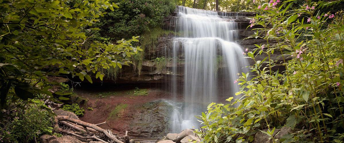 Smokey Hollow Falls (Joe deSousa/<a href=
