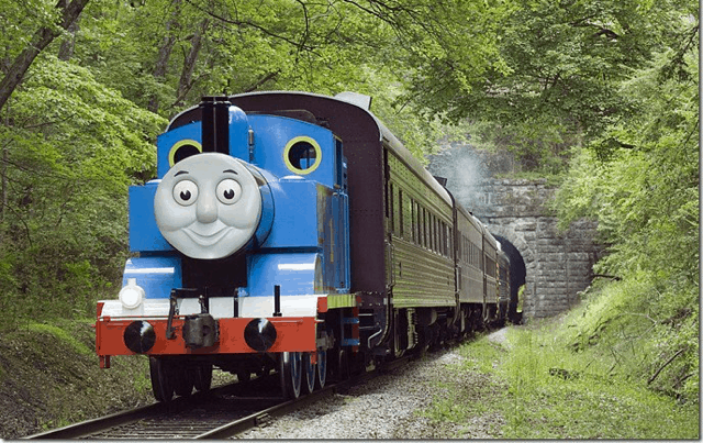 Ride along with Thomas this weekend (photo: Ride Along with Thomas - St. Thomas)