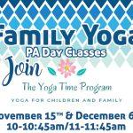 Family Yoga PA Day Class