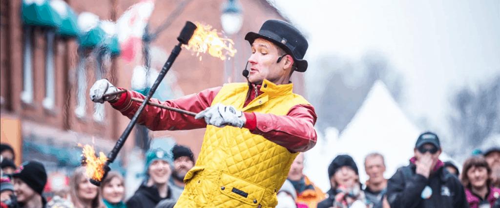 Bracebridge Fire and Ice Festival
