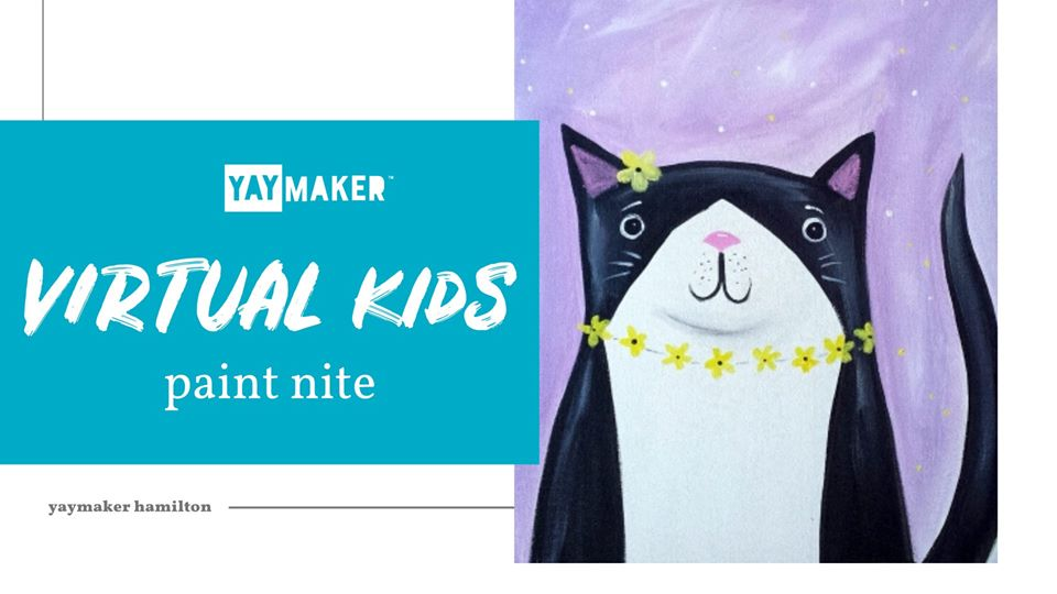 Virtual Kids' Paint Nite