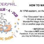 WonderPhil Livestream Magic Show