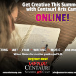 Centauri Virtual Summer Arts Camp