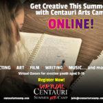 Centauri Virtual Summer Arts Camp
