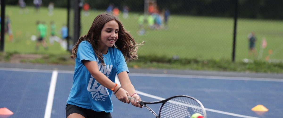TAC Sports has in-person tennis programs this fall.