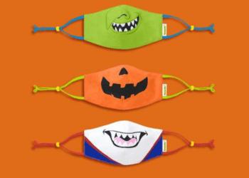 13+ Halloween-Inspired Face Masks For Kids