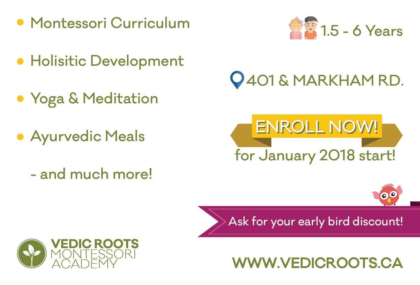 Vedic Roots Montessori Academy